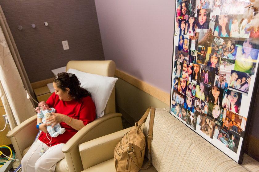 22-latka w śmierci mózgowej urodziła dziecko