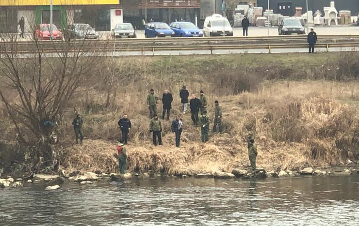 Potraga reka telo Sarajevo