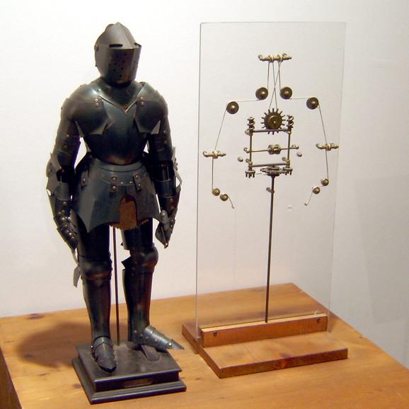 Jedan od modela napravljenih po da Vinčijevom nacrtu