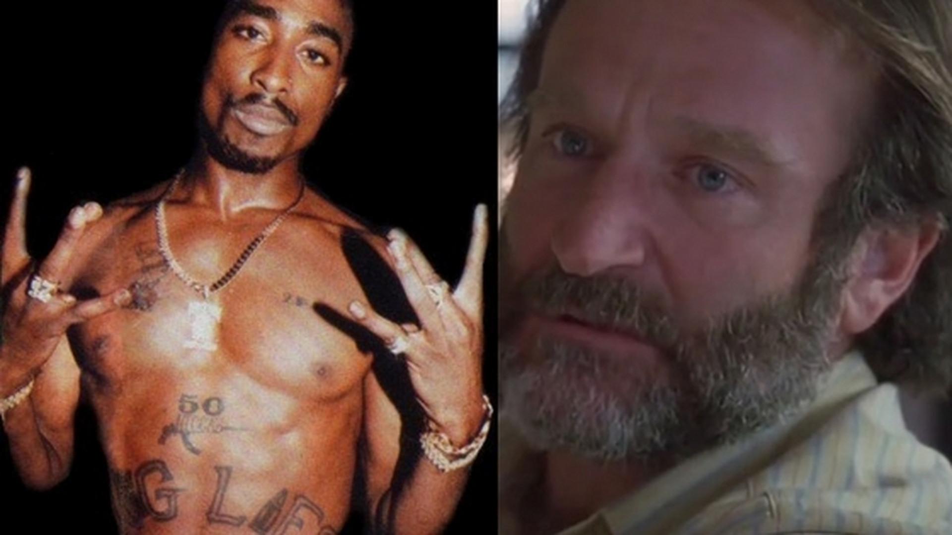 2c970fc8d To nie wehikuł czasu: 2Pac i Robin Williams aresztowani za posiadanie  narkotyków