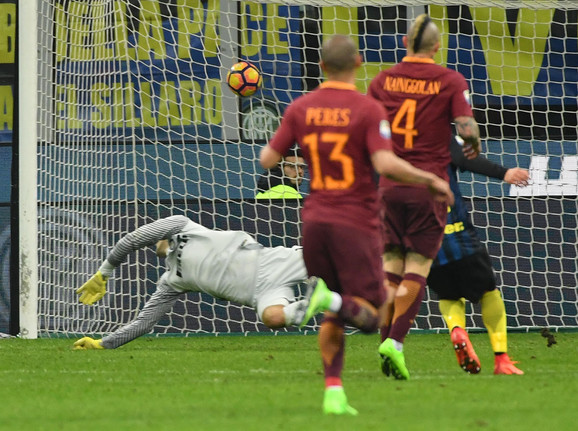 Dva sjajna gola protiv Intera postigao je Rađa Naingolan