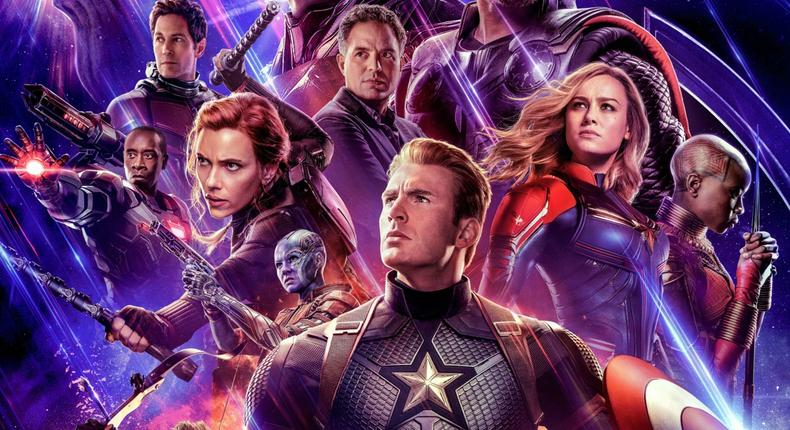 Avengers is the top film release of 2019 in Nigeria