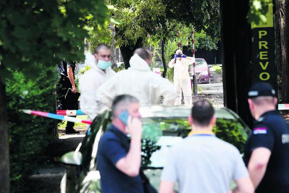 Crnogorac ubijen tačno u podne ispred Prvog osnovnog suda