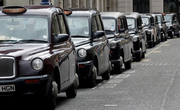 Lodyńskie taksówki