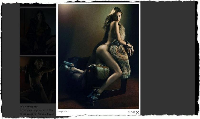 """Behati Prinsloo w sesji dla """"Interview Magazine"""""""