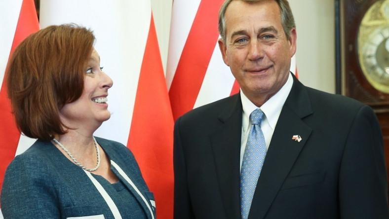 58-letnia pani marszałek od dawna uchodziła za jedną z najlepiej ubranych kobiet w polskiej polityce...