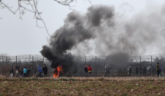 Haos na tursko-grčkoj granici