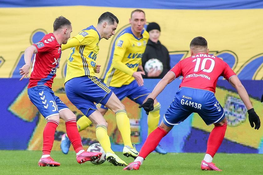 Ekstraklasa piłkarska: Arka Gdynia –Raków  0:2