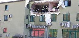 Wybuch w bloku w Suchej Beskidzkiej. Zawaliła się ściana