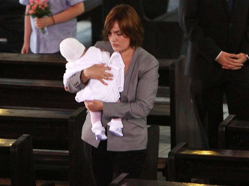 Gawryluk ochrzciła córeczkę
