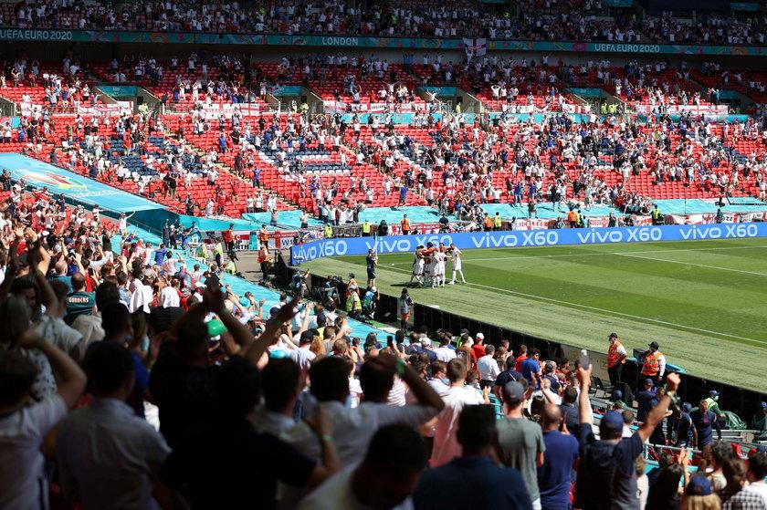 Mecz Anglia – Chorwacja obejrzało z trybun Wembley 22 500 kibiców.