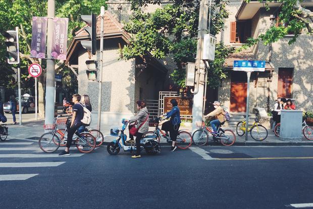 Ulica w Szanghaju