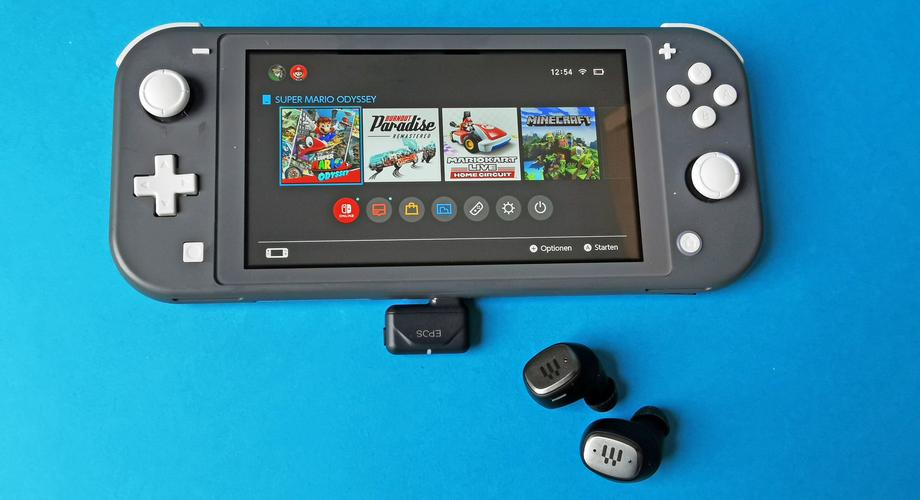 EPOS GTW 270 Hybrid an der Nintendo Switch Lite