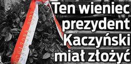 Ten wieniec prezydent miał złożyć w Katyniu