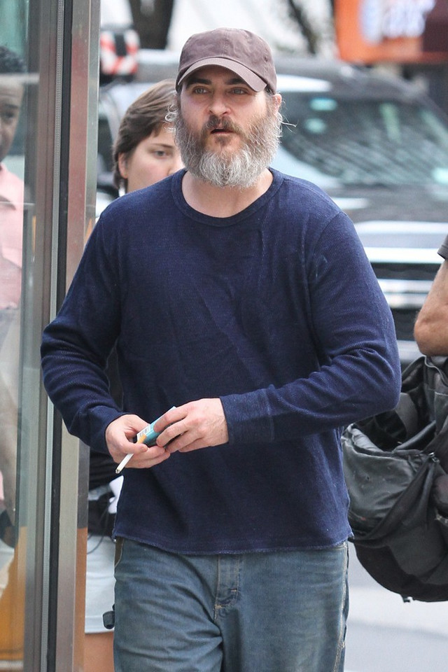 "Joaquin Phoenix na planie filmu ""You Were Never Really Here"""