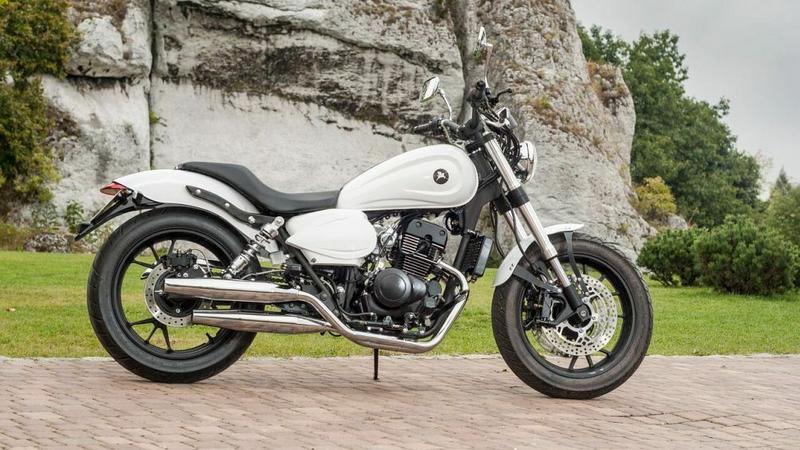 To był najlepszy listopad od 12 lat w sprzedaży nowych motocykli. Na zdjęciu Romet RCR