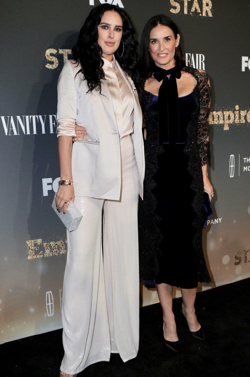 Demi Moore z córkąRumer Willis