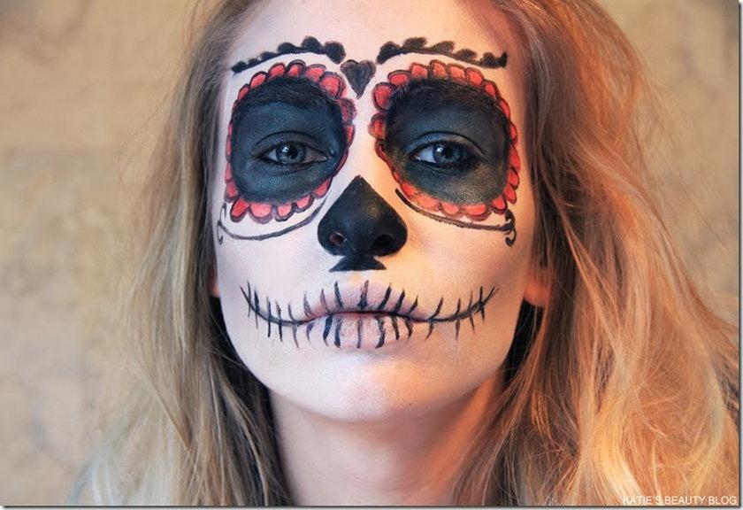 Makijaż na Halloween dla tych, co lubią się bać