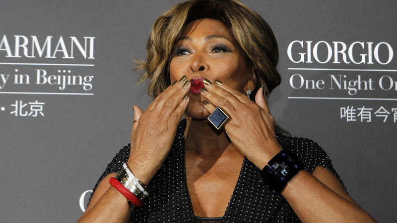 Tina Turner i udar, którego nie było