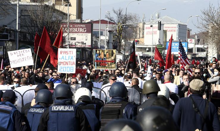 Skoplje demonstracije