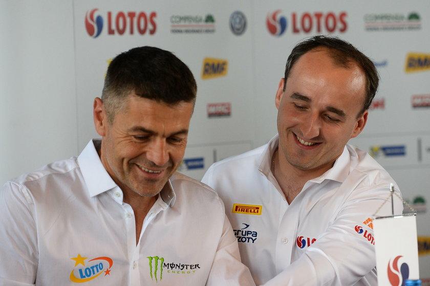 Krzysztof Hołowczyc i Robert Kubica