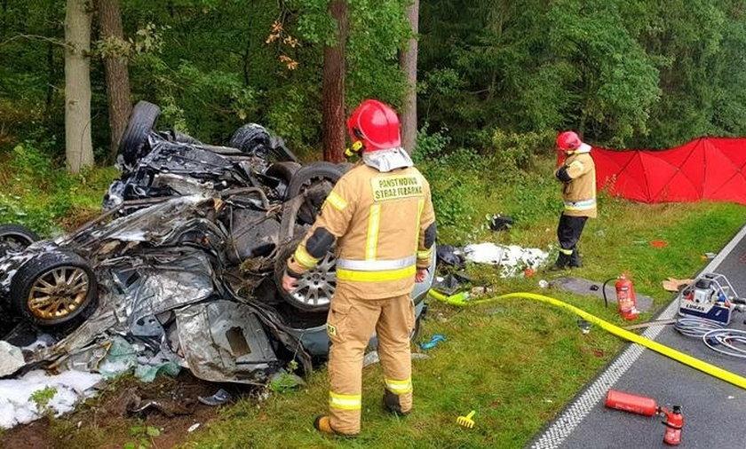 Tragiczny wypadek pod Łobzem.
