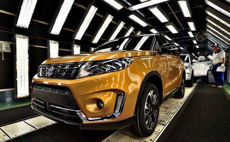 Suzuki Vitara - najczęściej kupowany w Polsce model japońskiej marki