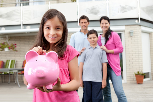 rodzina pieniądze