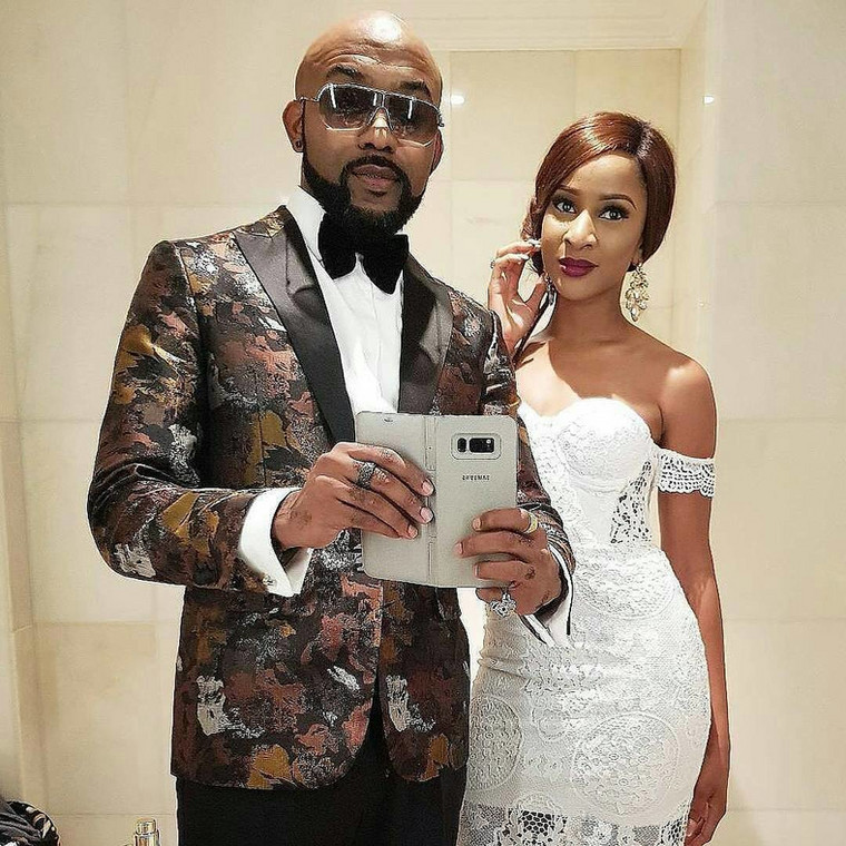 Banky W is pretty excited about Adesua Etomi's new achievement and he isn't even keeping calm