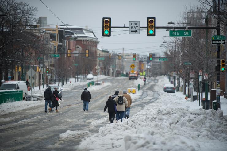 SAD sneg filadelfija