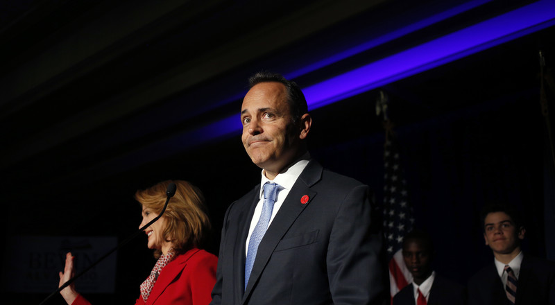 Bevin Concedes Kentucky Governor's Race