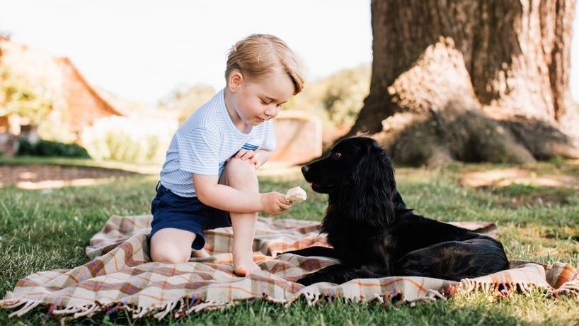 Książę George skończył 3 lata