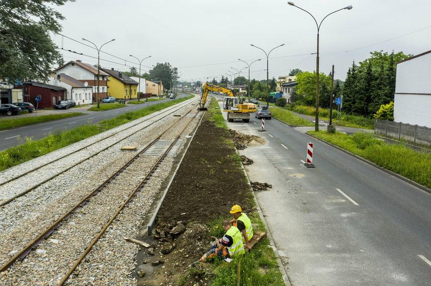 Opóźnione inwestycje tramwajowe w Będzinie i Sosnowcu