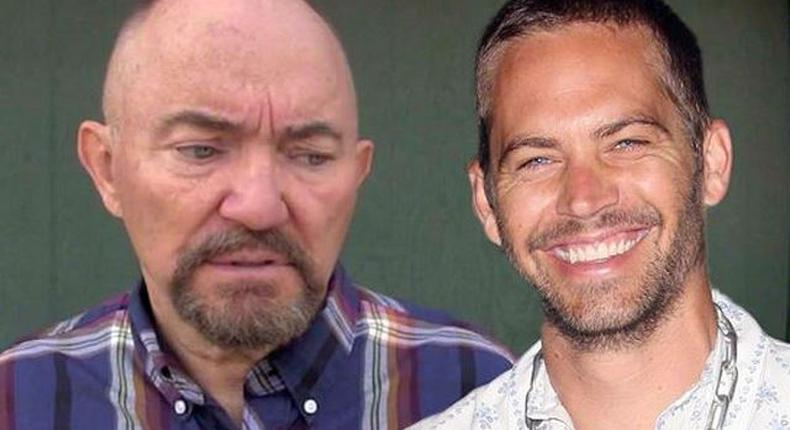 Paul Walker and his father