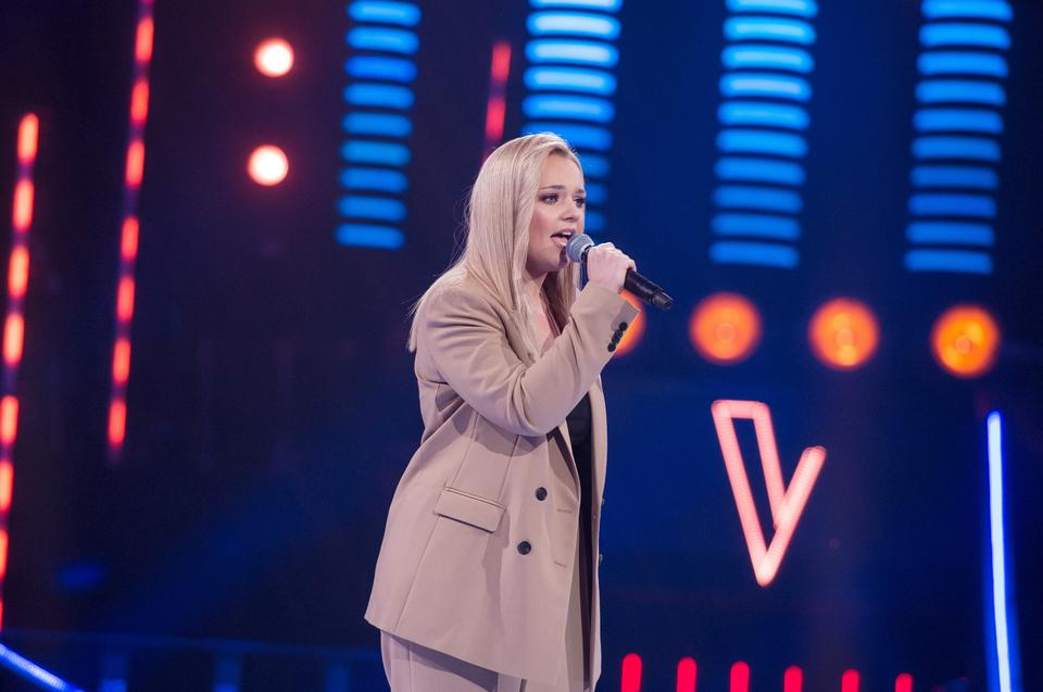 "Anna Gąsienica-Byrcyn w ""The Voice of Poland 11"""