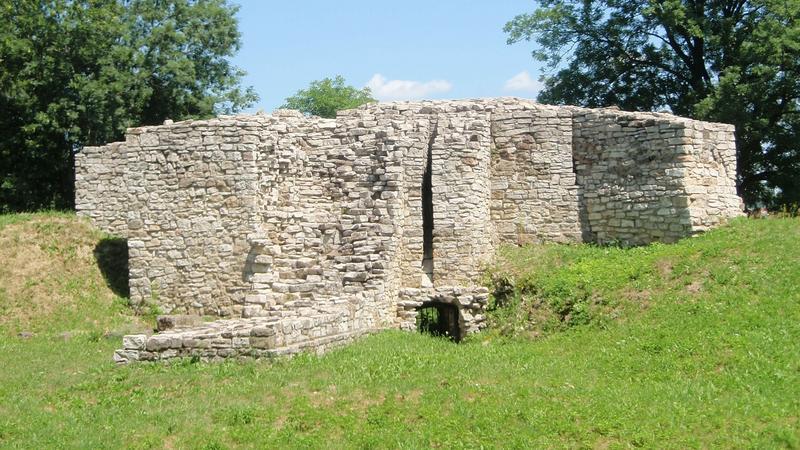 Ruiny zamku w Sławkowie