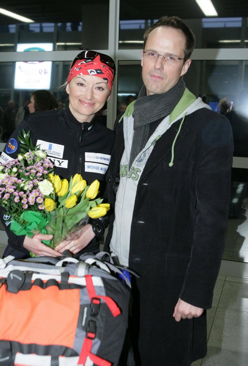 Martyna Wojciechowska i Jerzy Błaszczyk