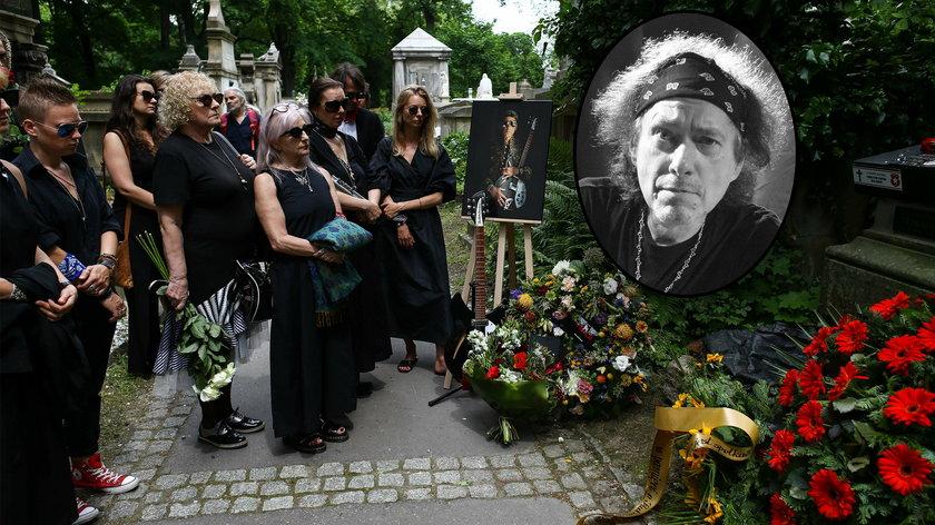 """Andrzej """"Püdel"""" Bieniasz został pochowany na Cmentarzu Rakowickim w Krakowie"""