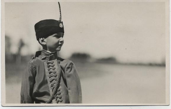 Mladi kralj Petar II Karađorđević