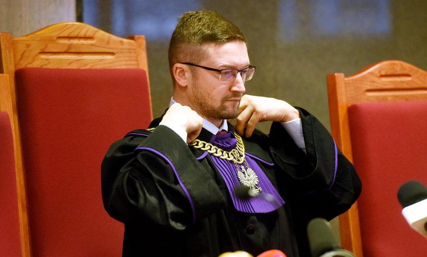 Maciej Nawacki podarł apel sędziów