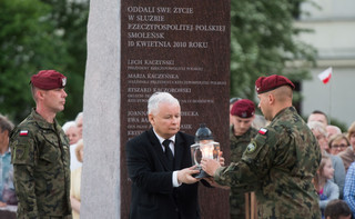 Kaczyński: Smoleńsk musi być pamięcią wspólną