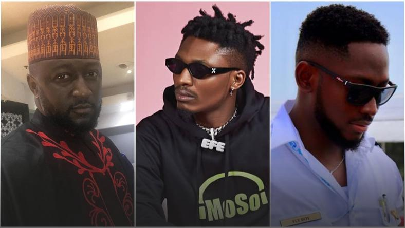 Katung Aduwak, Efe Ejeba and Miracle Igbokwe are past winners of of BBNaija in the last 13 years. [Instagram]