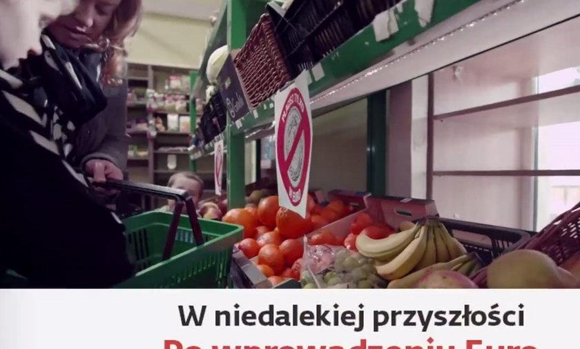 Andrzej Duda spot o wprowadzeniu euro
