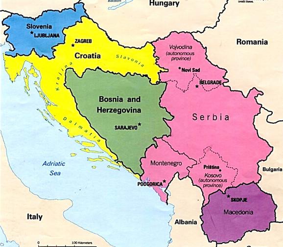 Jugoslavija, nekad davno