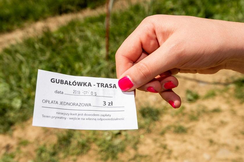 Górale pobierają opłaty za przejście ścieżką na Gubałówkę