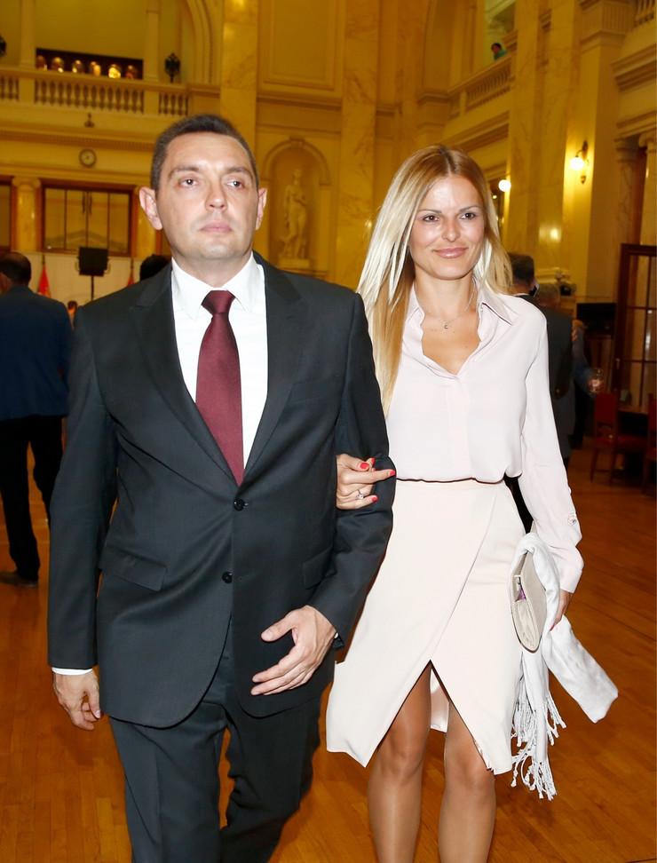 Aleksandar Vulin, Nataša Vulin