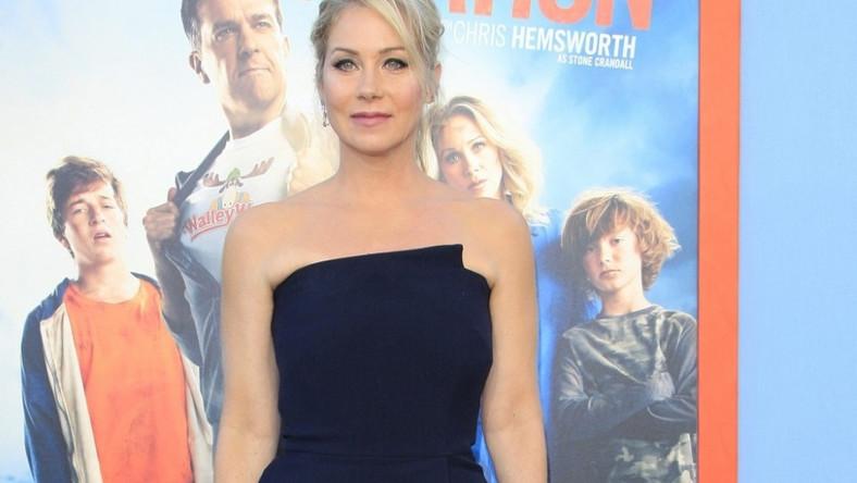"""Aktorka pojawiła się wczoraj w Los Angeles na premierze filmu """"W nowy zwierciadle: Wakacje""""..."""