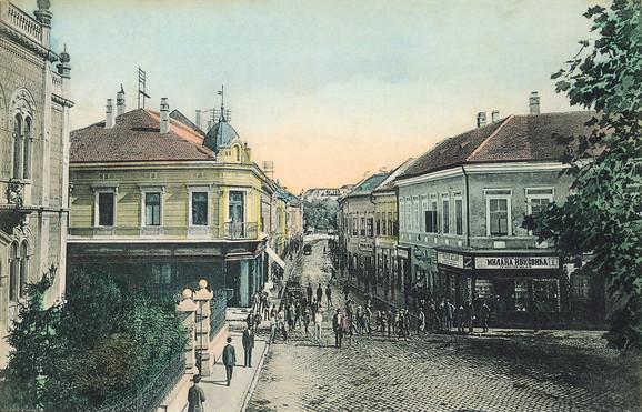 Dunavska ulica, nekadašnji novosadski Pigal