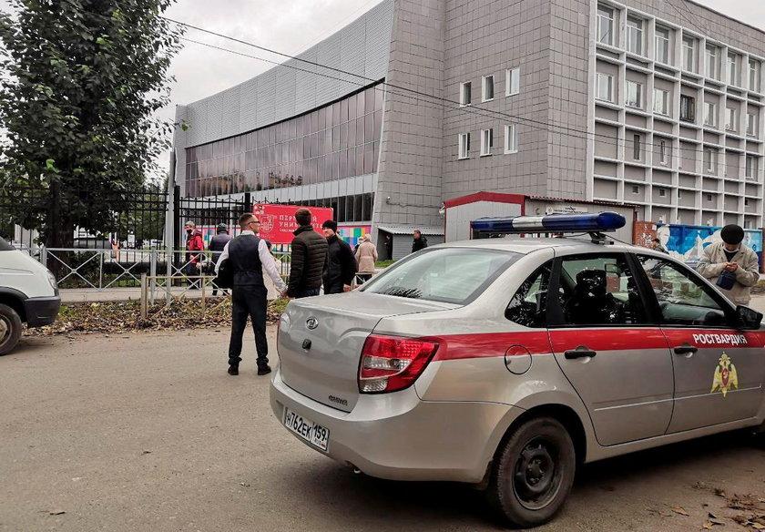 Rosja. Strzelanina na uniwersytecie. Są ofiary śmiertelne