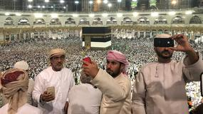 1,6 mln muzułmanów przybyło już do Mekki na coroczną pielgrzymkę hadżdż